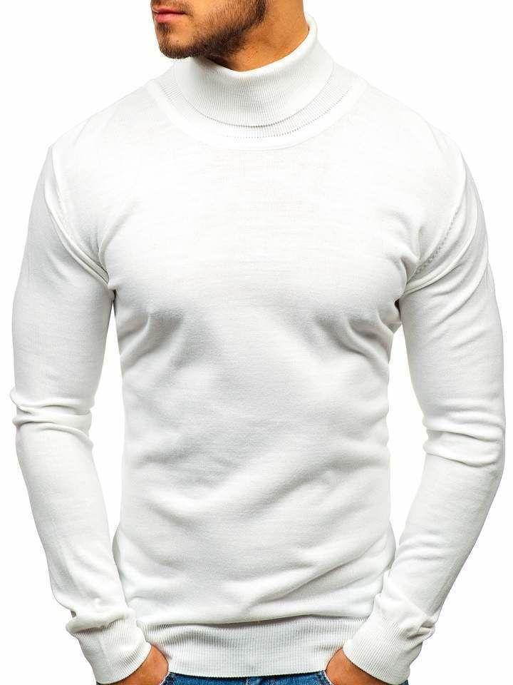 Helanca bărbați albă Bolf 2400 imagine