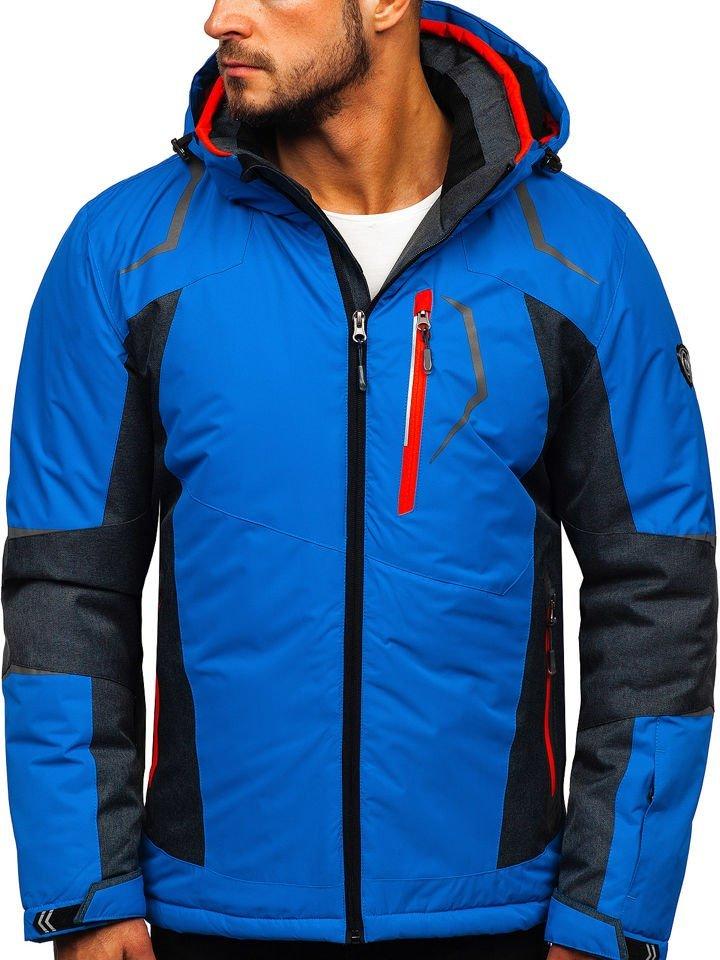 Geacă de ski albastră Bolf BK085