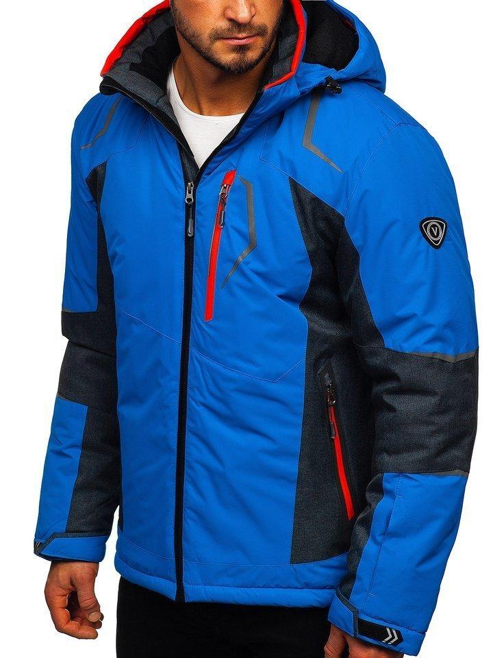 Geacă de ski albastră Bolf BK085 imagine