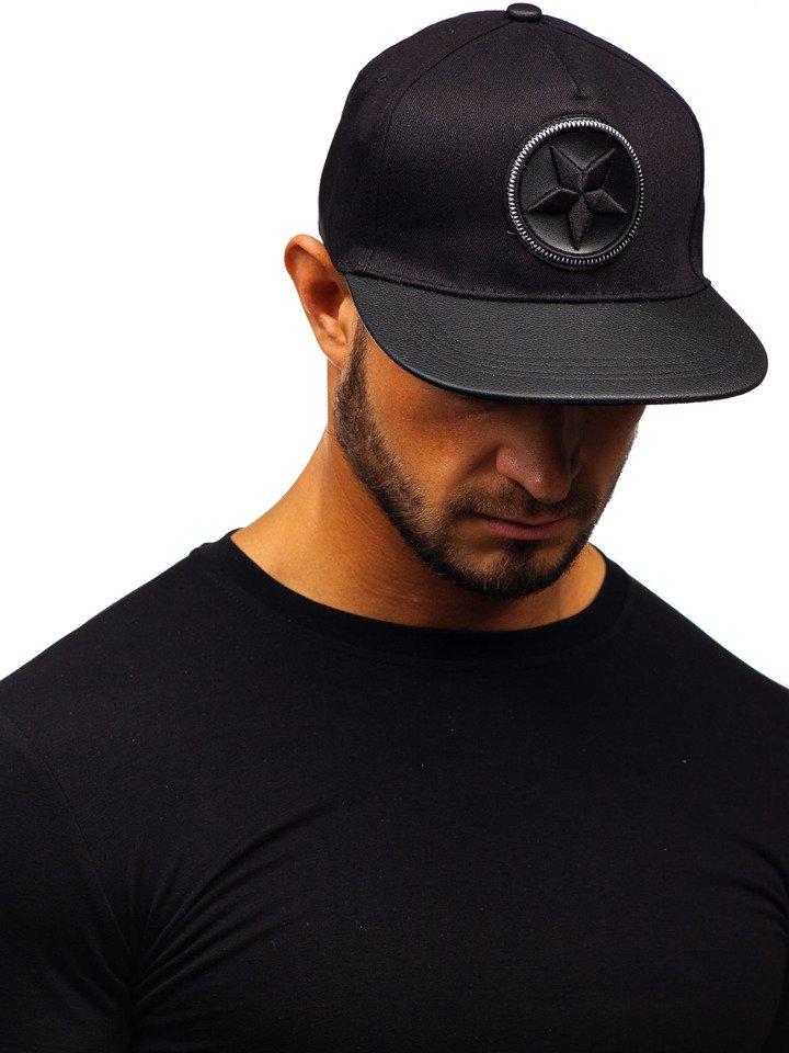 Șapcă cu cozoroc bărbați negru Bolf CZ14