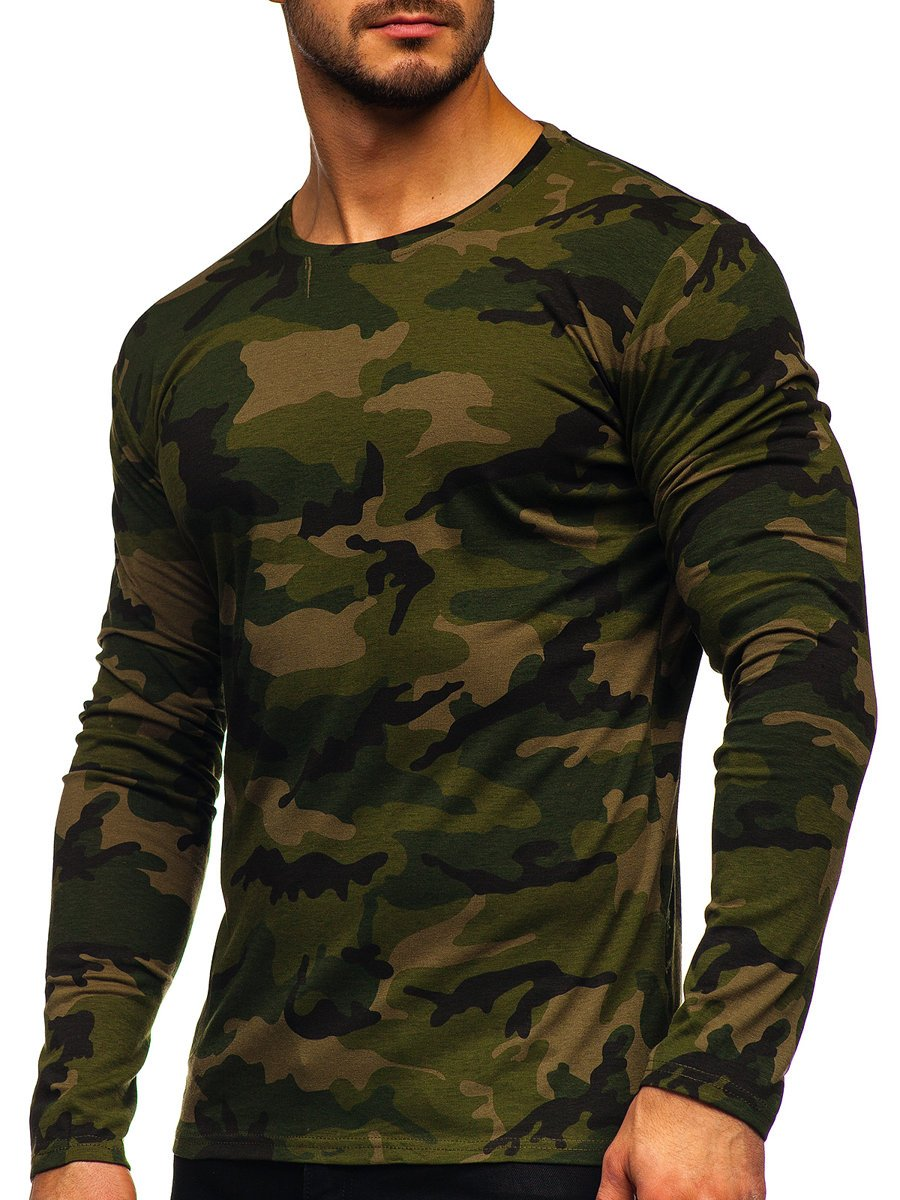 Bluză kaki army Bolf 2088-1 imagine