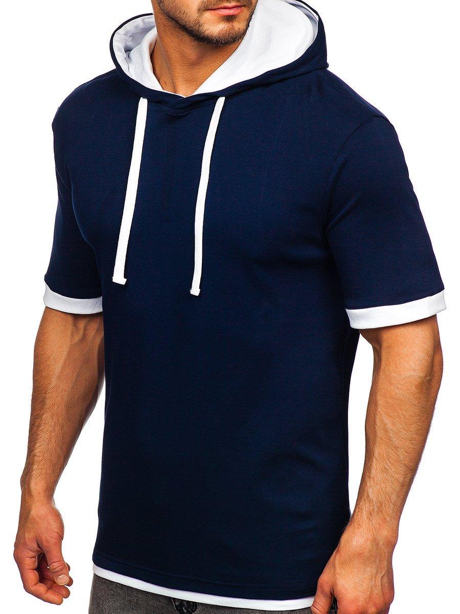 Tricou bleumarin Bolf 08