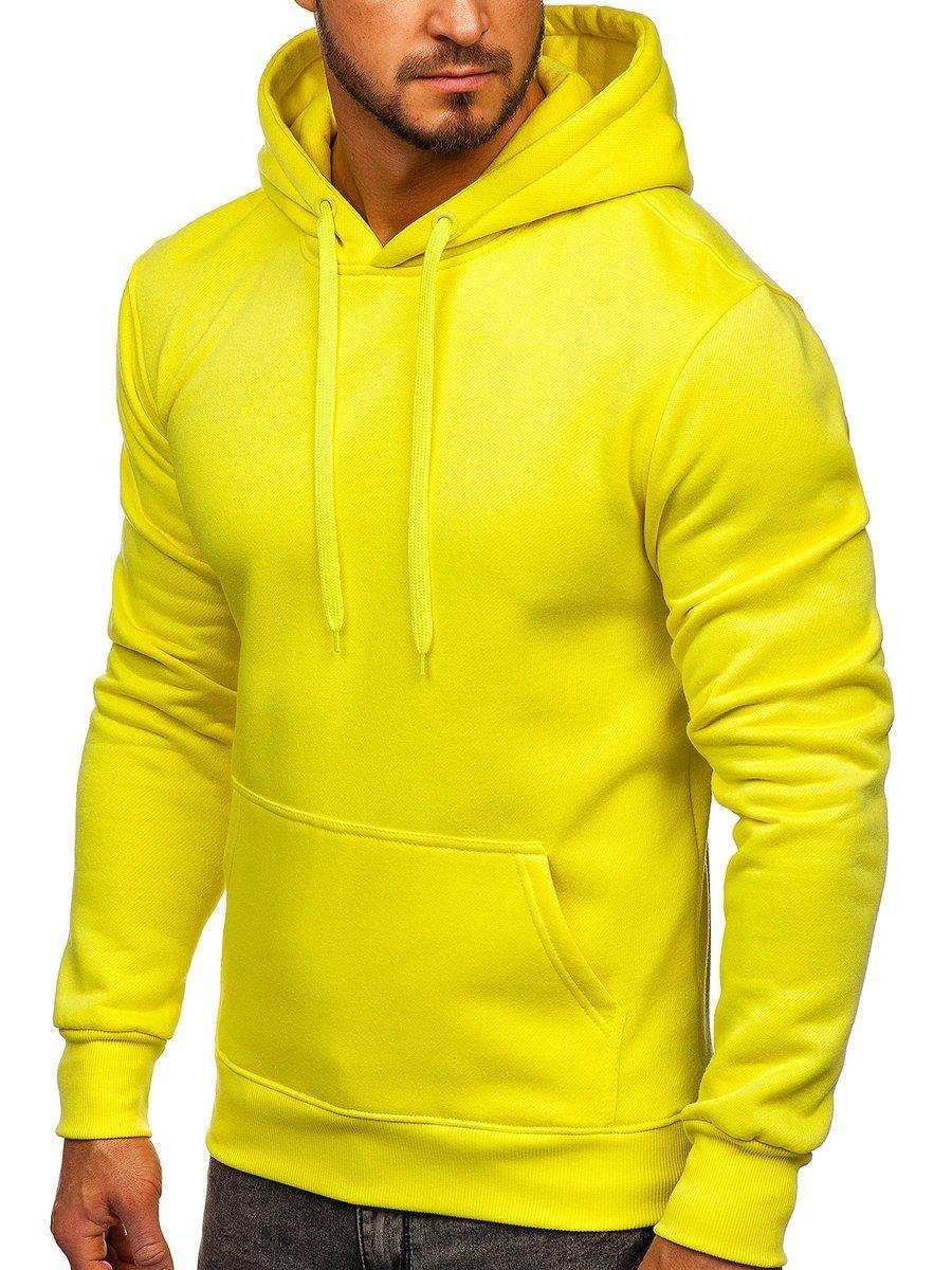Hanorac galben-neon bărbați Bolf 2009