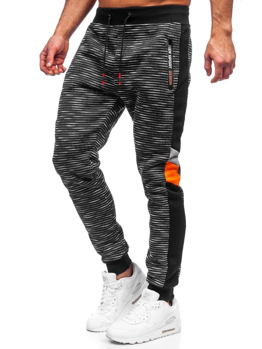 Pantaloni de trening grafit Bolf K60001