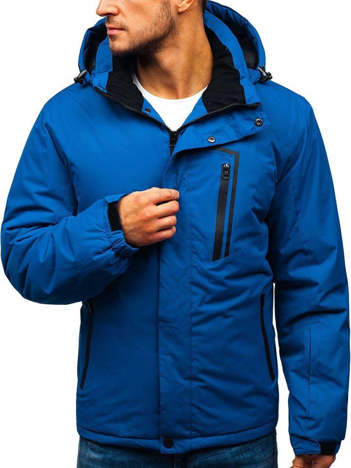 Geacă de iarnă ski pentru bărbat albastră Bolf HZ8107