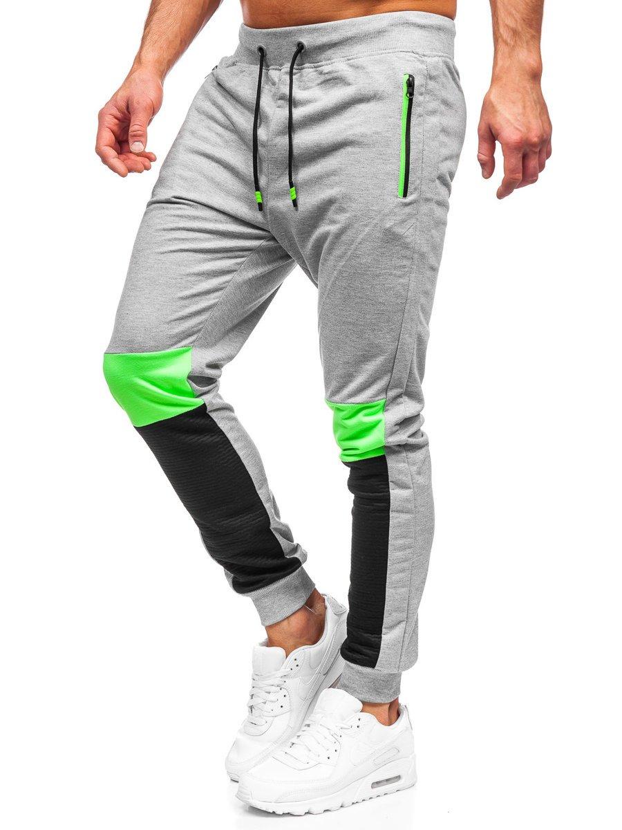 Pantaloni de trening gri Bolf K10222