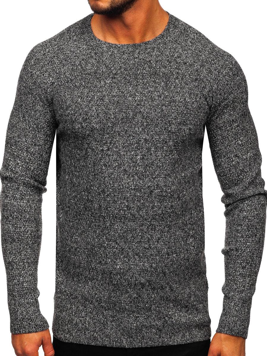 Pulover pentru bărbat gri Bolf H1810