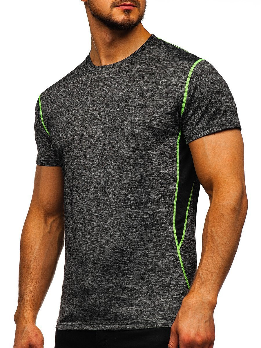 Tricou negru bărbați Bolf KS2104 imagine