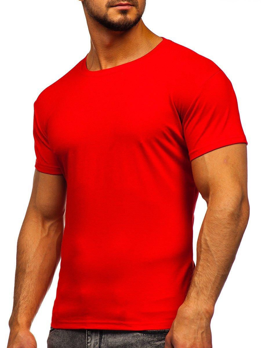 Tricou bărbați rosu-deschis Bolf 2005 imagine