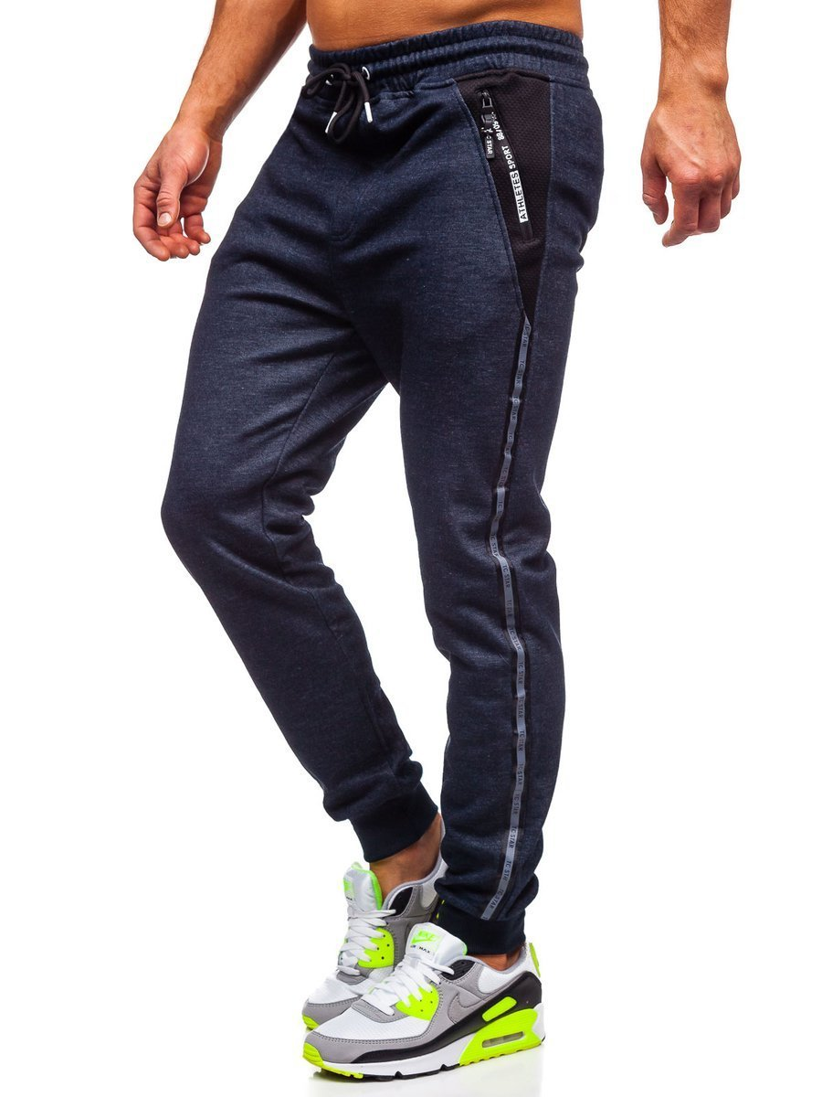 Pantaloni de trening bleumarin Bolf TC51003