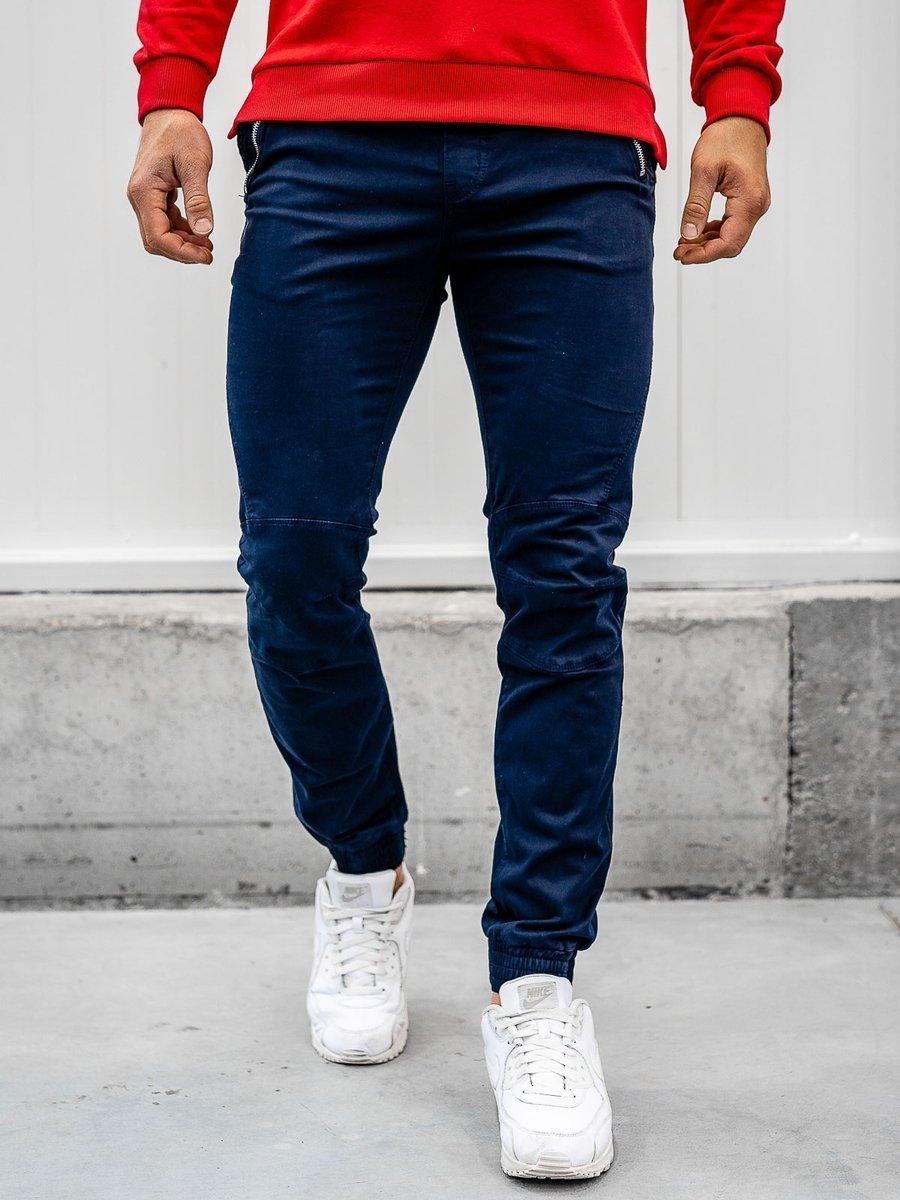 Pantaloni joggers bleumarin Bolf KA9600