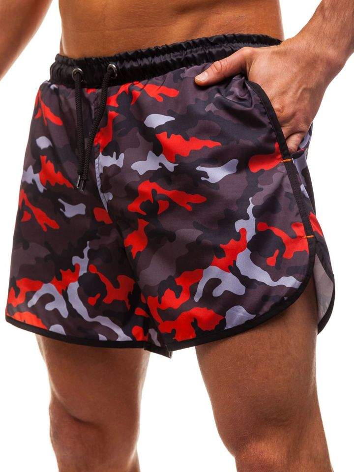 Pantaloni scurți de baie pentru bărbat multicolor Bolf 0732C