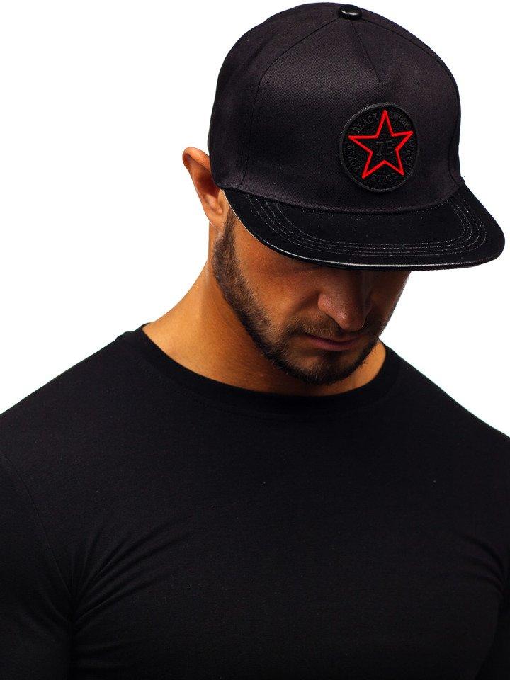 Șapcă cu cozoroc bărbați negru Bolf CZ15 imagine