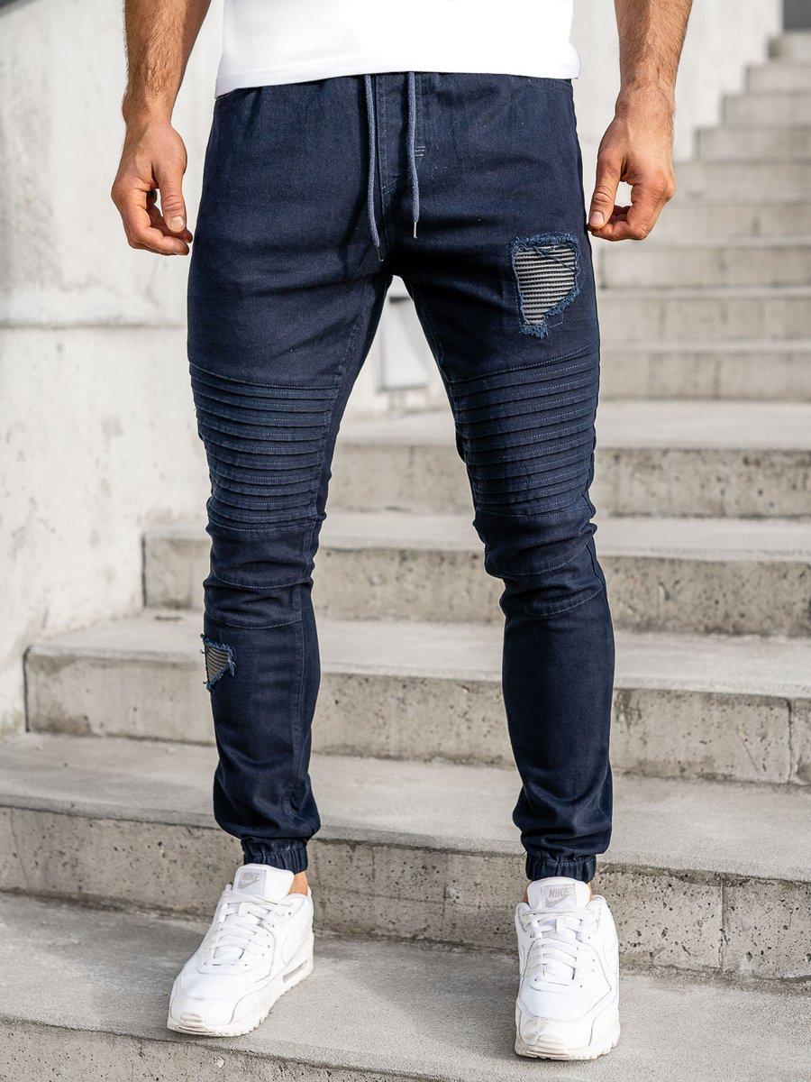 Pantaloni joggers bleumarin Bolf 0829
