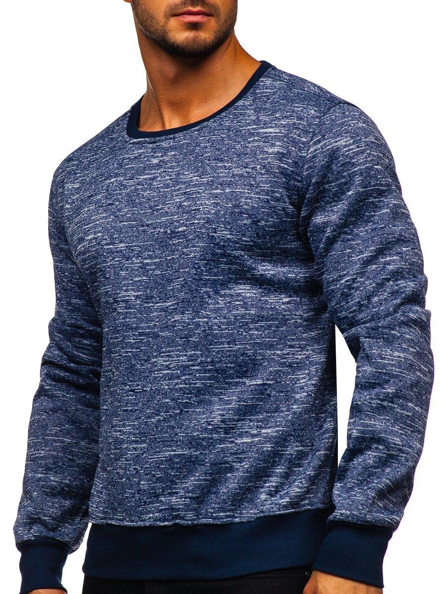 Bluză bleumarin bărbați Bolf 2001-4 imagine