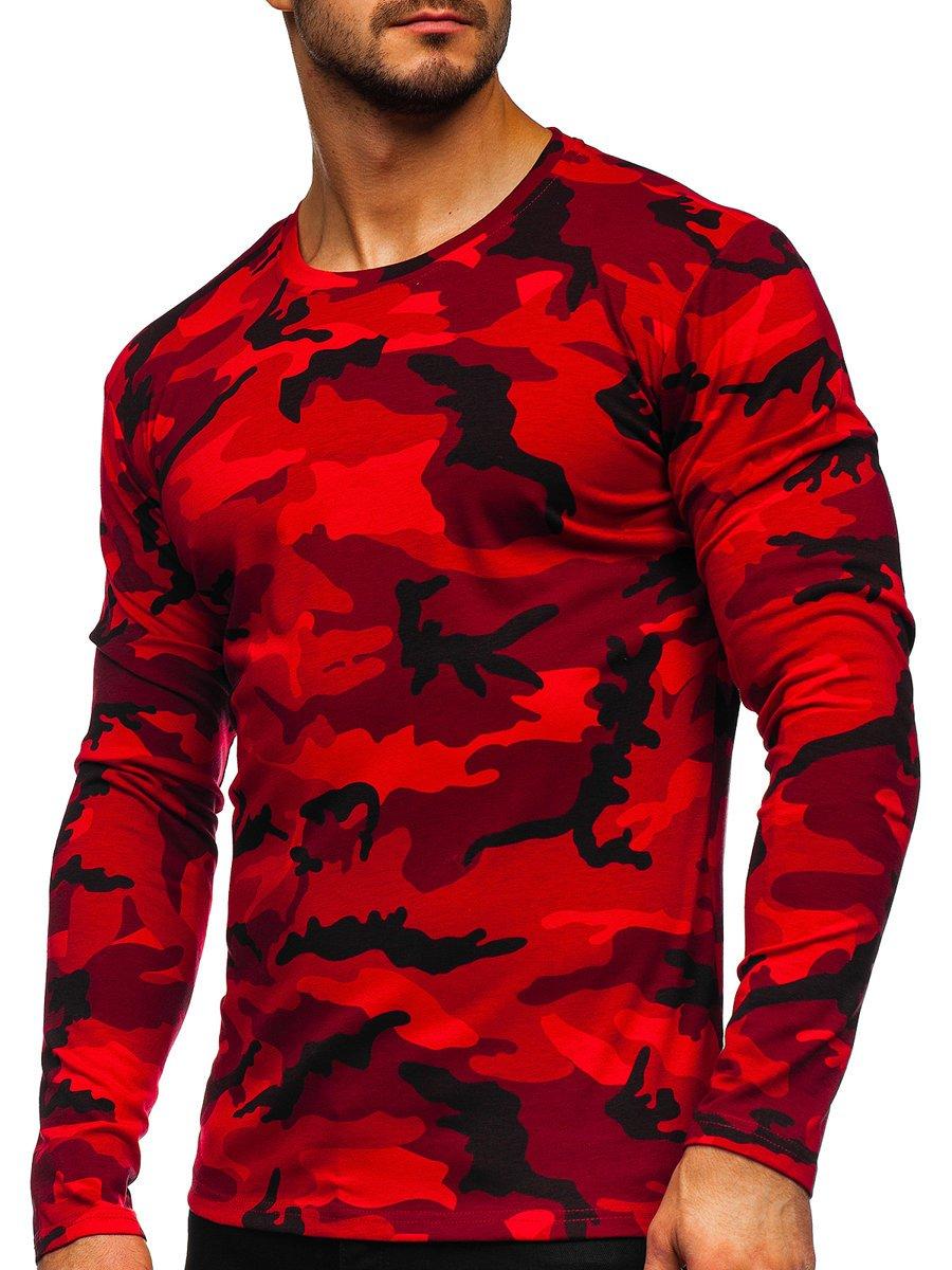 Bluză roșu army Bolf 2088-1 imagine