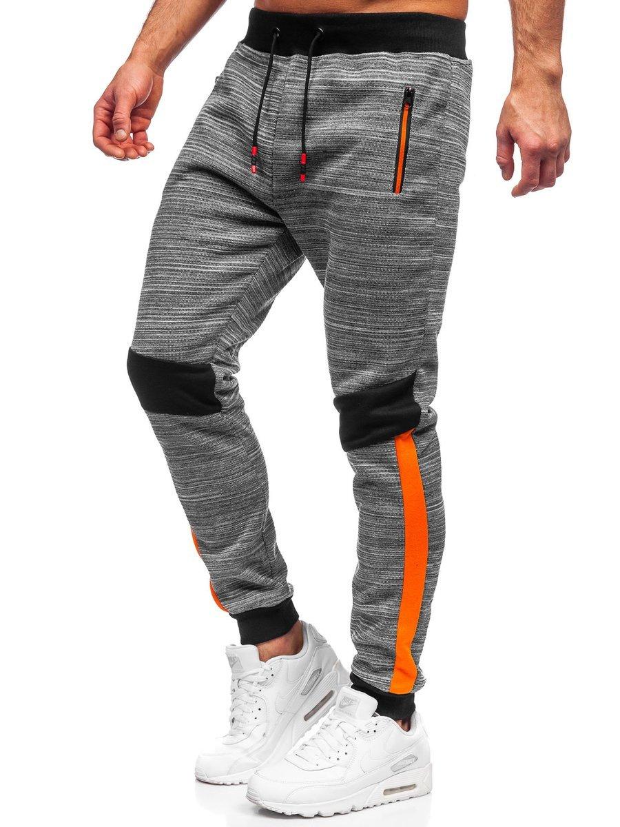 Pantaloni de trening gri Bolf K60013