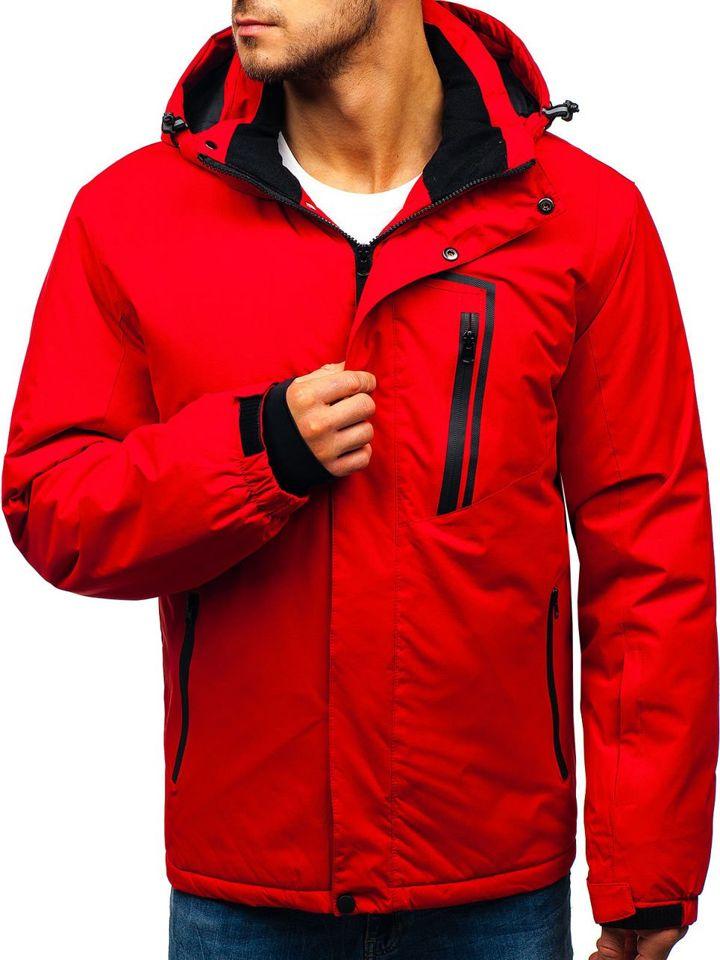 Geacă de iarnă ski pentru bărbat roșie Bolf HZ8107