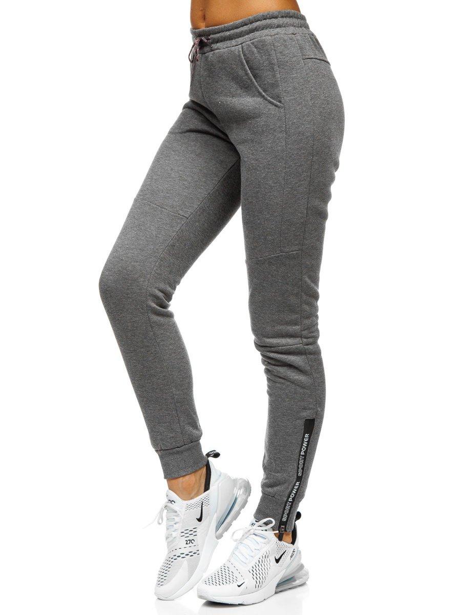 Pantaloni de trening dame grafit Bolf KSW5001