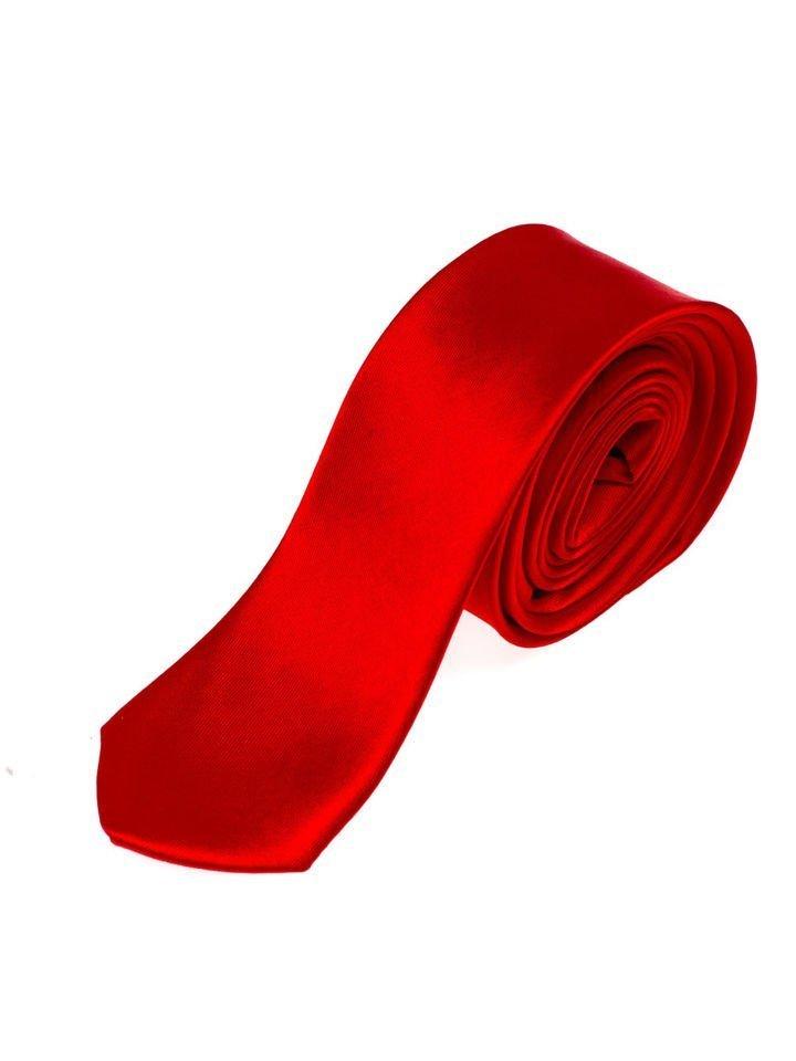 Cravată elegantă bărbați roșu Bolf K001