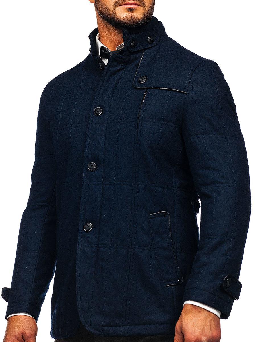 Palton bărbați bleumarin Bolf EX66A