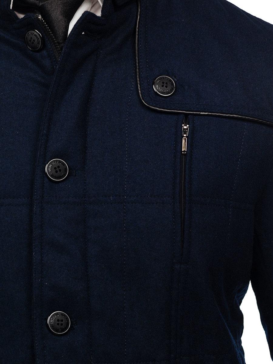 Palton bărbați bleumarin Bolf EX66A imagine