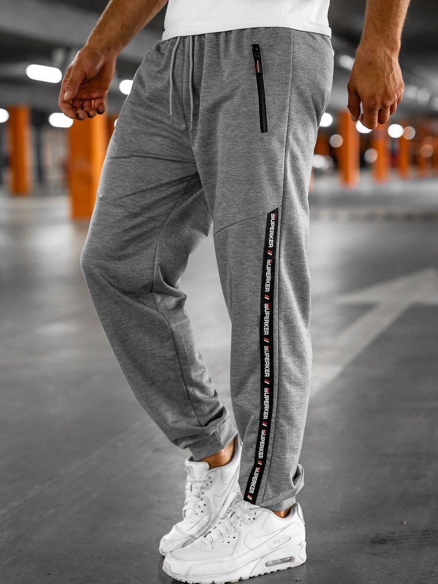 Pantaloni de trening gri Bolf JX1015 imagine