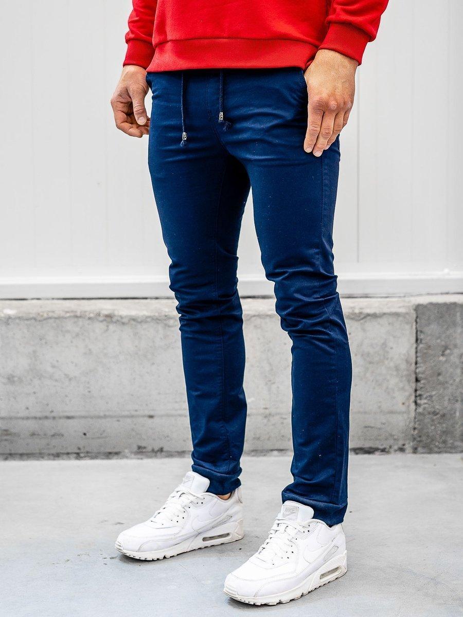 Pantaloni joggers bleumarin Bolf KA8877 imagine