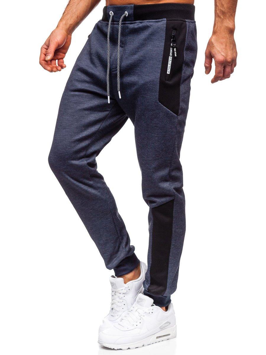 Pantaloni de trening bleumarin Bolf Q1093 imagine