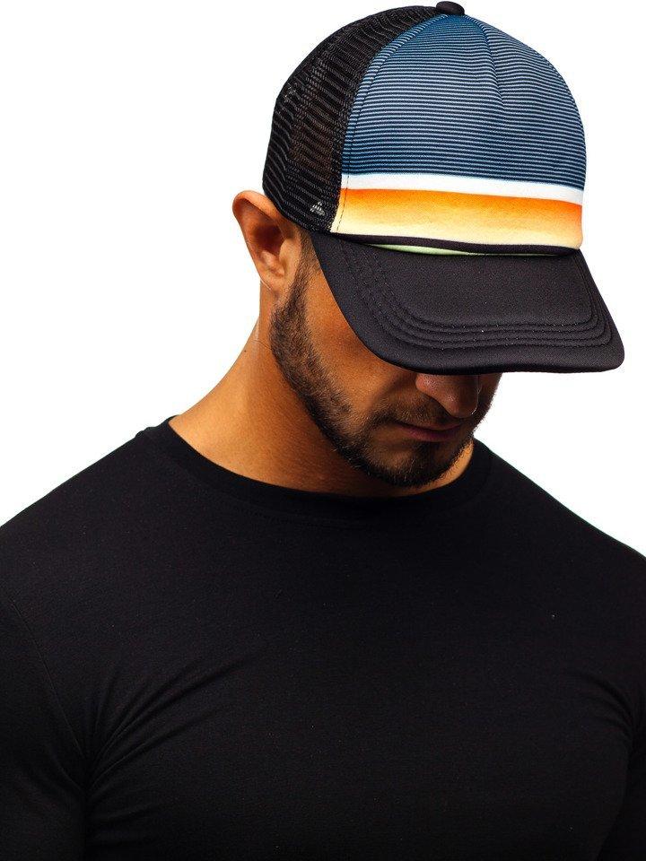 Șapcă cu cozoroc negru Bolf CZ39-16 imagine