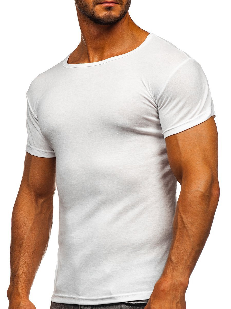 Tricou bărbați alb Bolf NB003 imagine