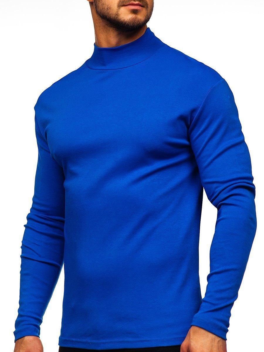 Helancă bărbați albastră Bolf 145348 imagine