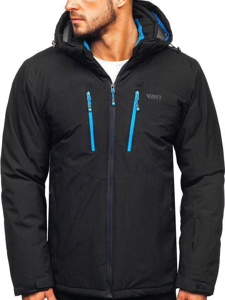 Geacă de ski neagră Bolf BK193
