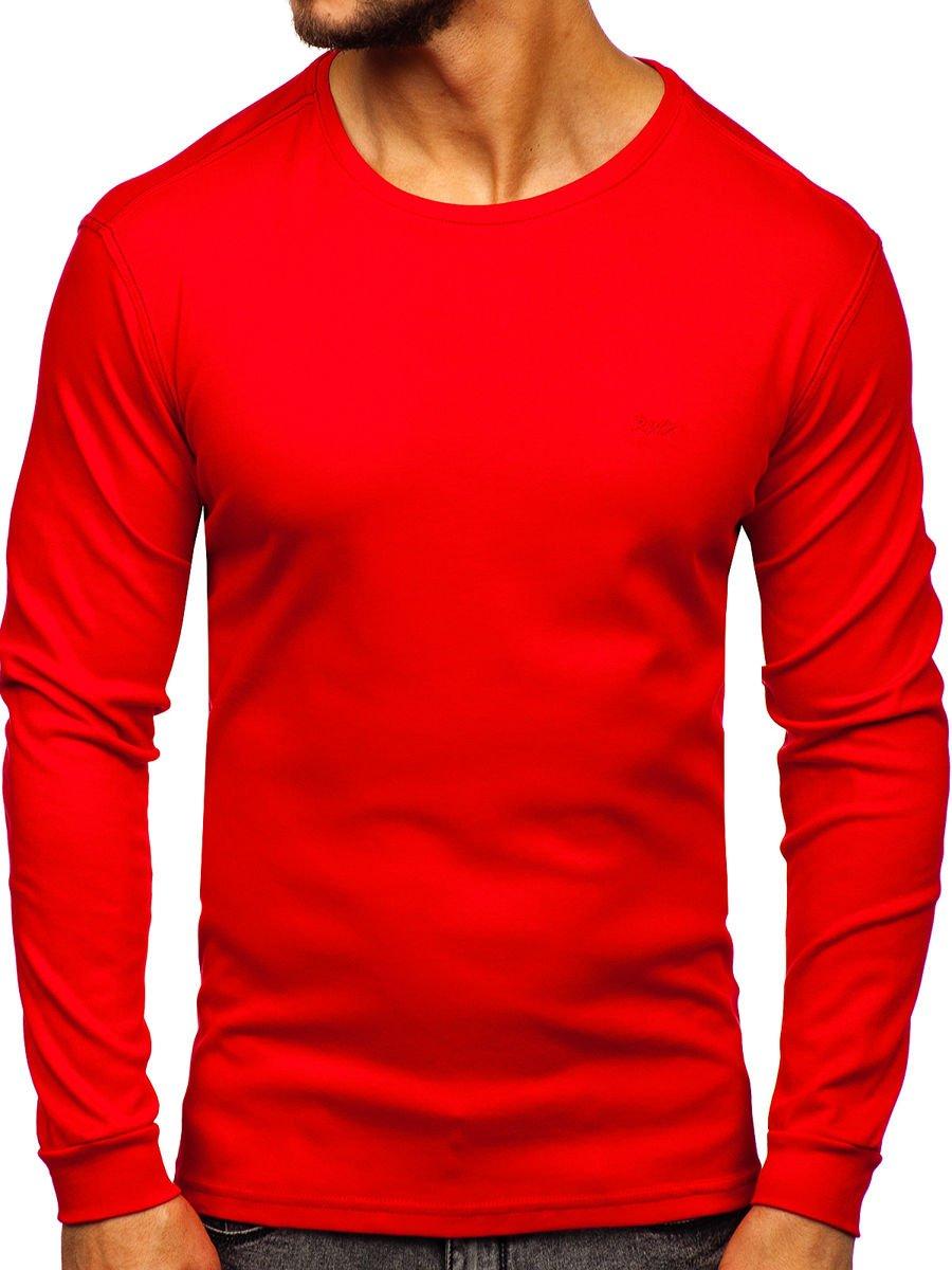 Bluză bărbați roșu Bolf 145359 imagine