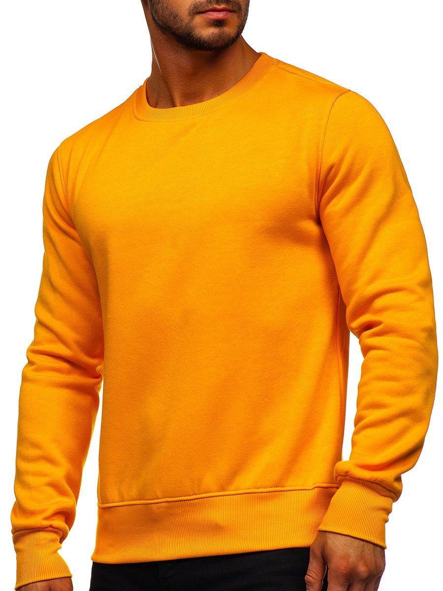 Bluză bărbați portocaliu-deschis Bolf 2001