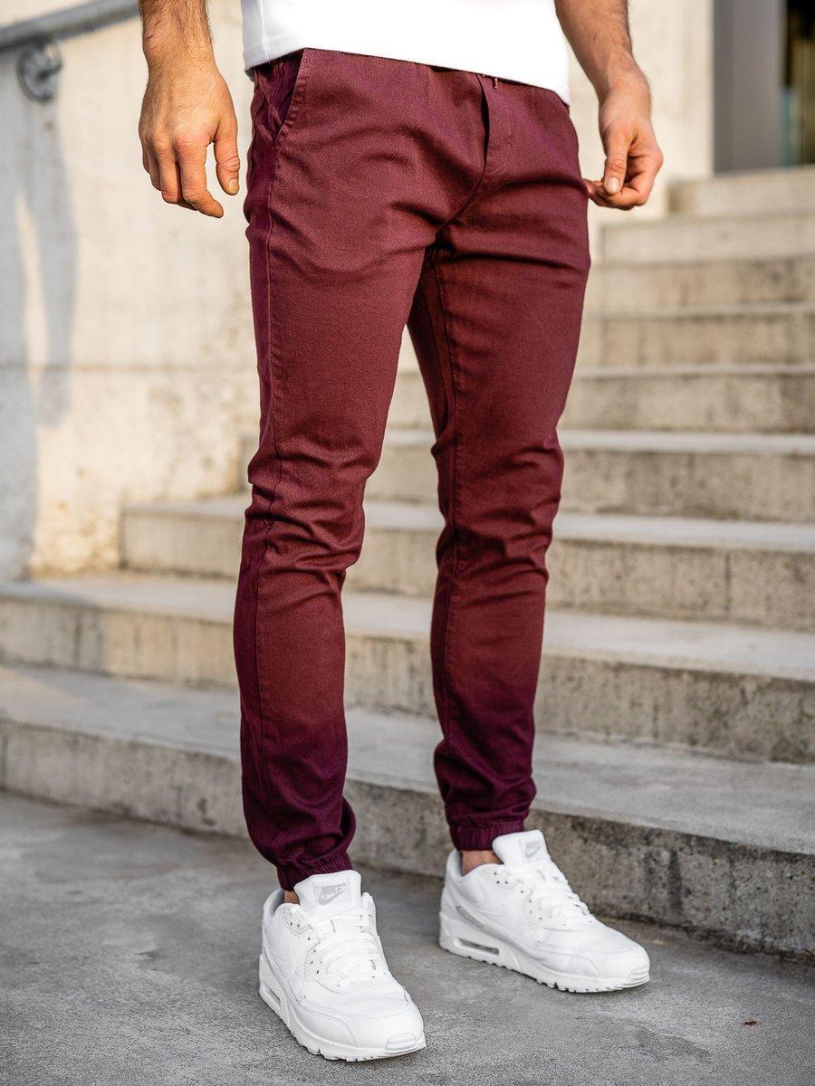 Pantaloni joggers bordo Bolf 0905