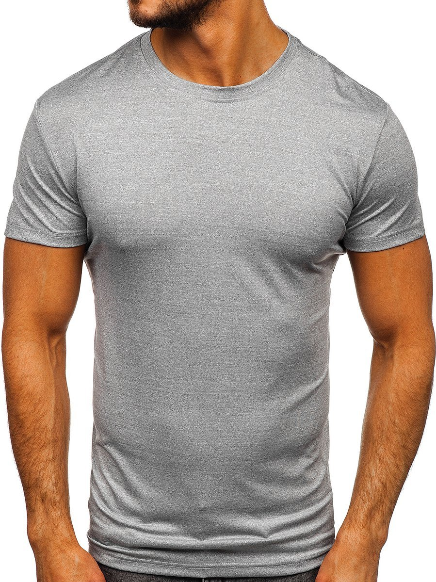 Tricou de trening gri bărbați Bolf S01 imagine