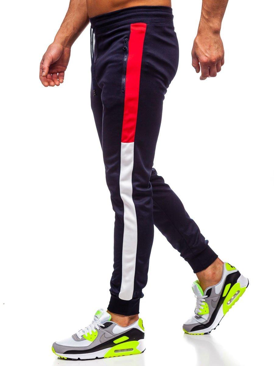 Pantaloni de trening bărbati bleumarin Bolf HL8991