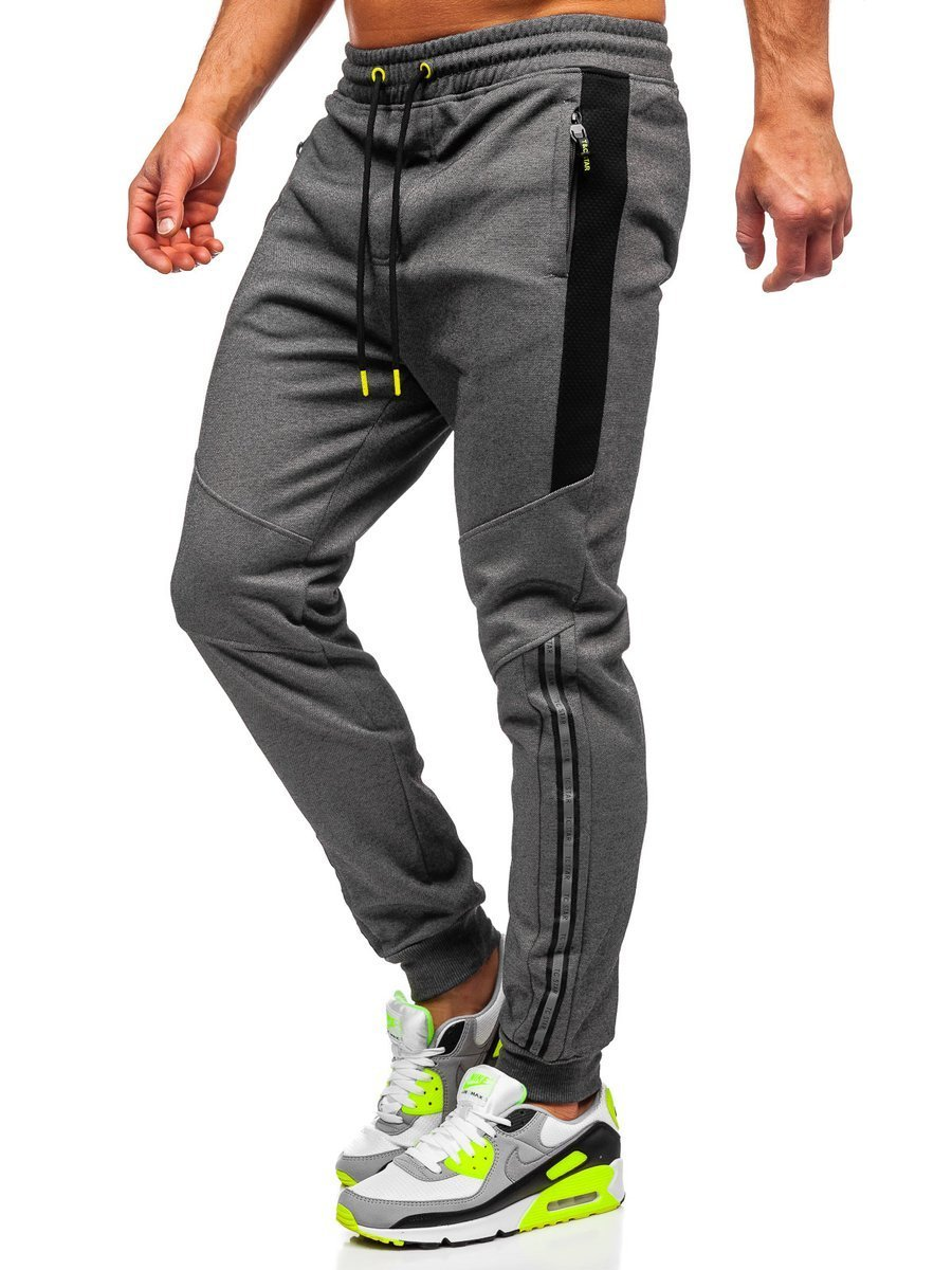 Pantaloni de trening gri Bolf TC951 imagine