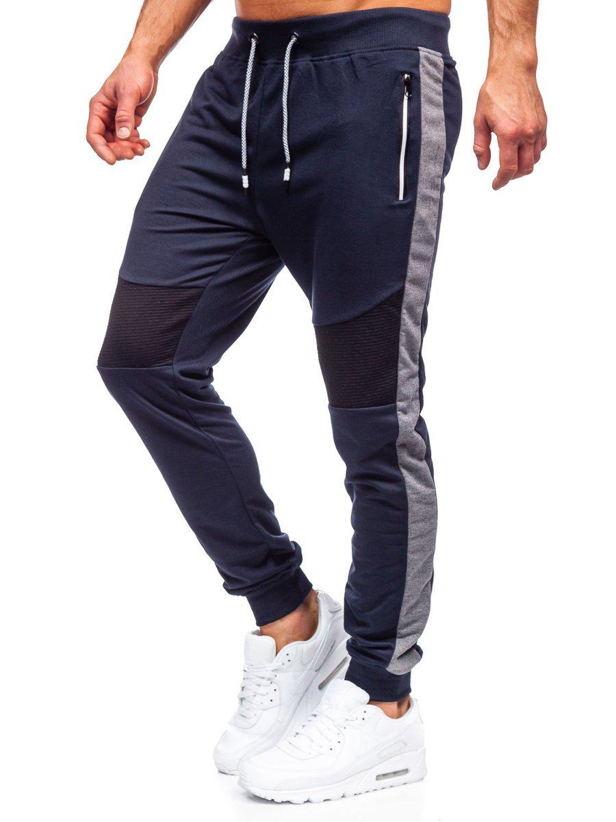 Pantaloni de trening bleumarin Bolf K10205