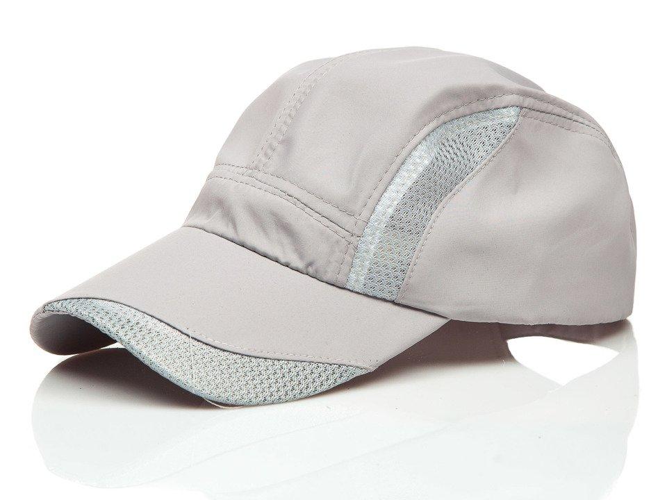 Șapcă cu cozoroc gri Bolf CZ26 imagine