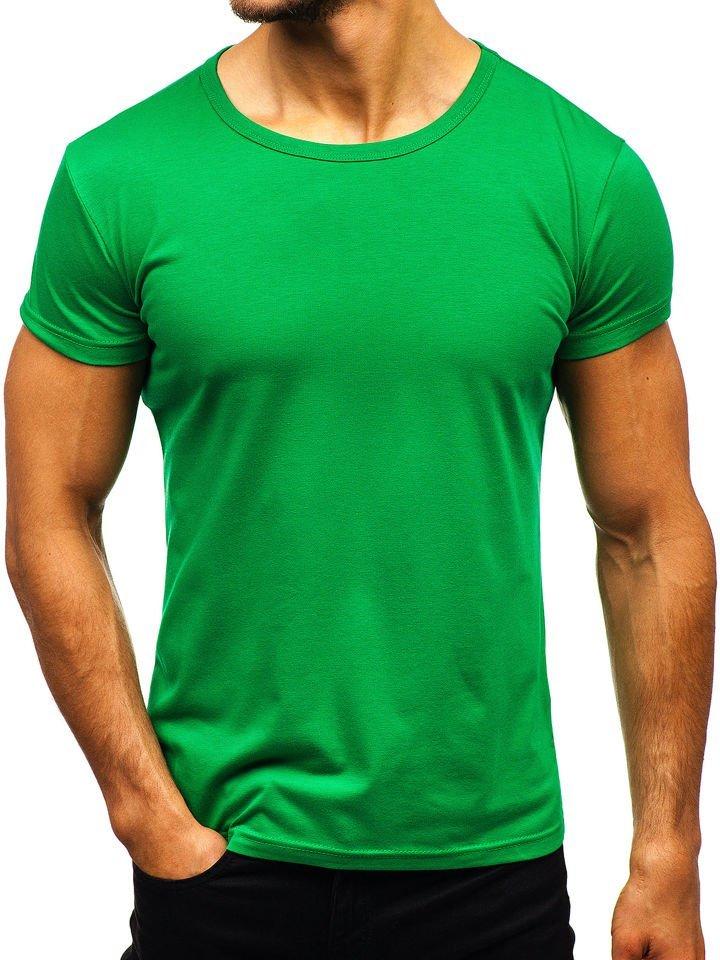 Tricou bărbați verde Bolf AK999A imagine