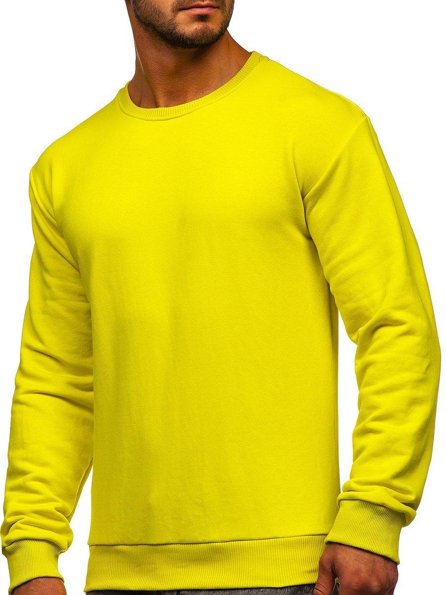 Bluză bărbați galben-deschis Bolf 171715 imagine