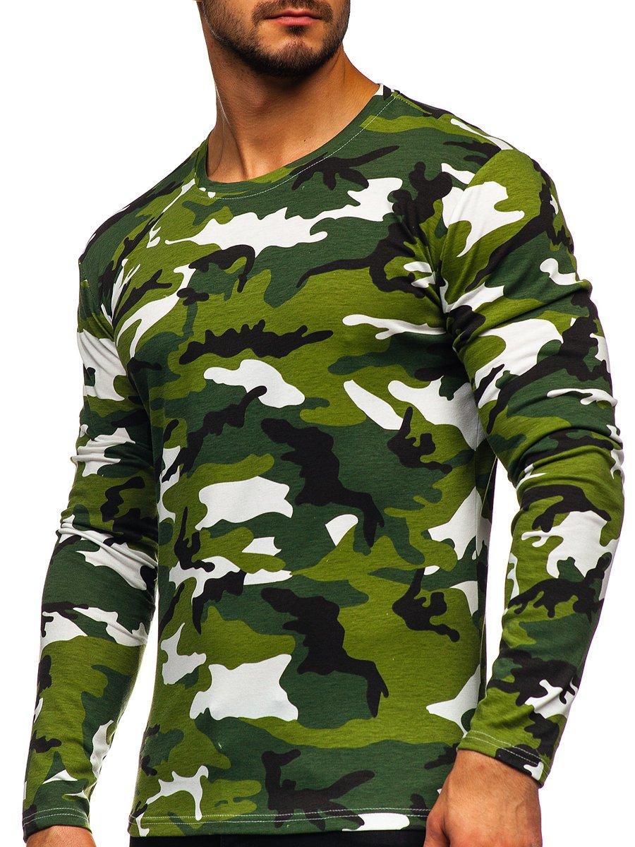 Bluză verde army Bolf 2088-1 imagine