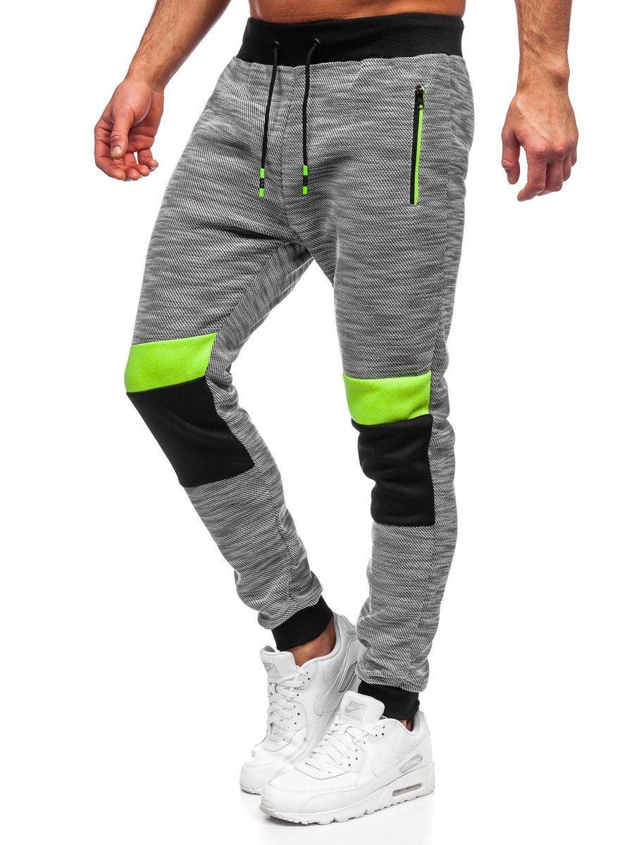 Pantaloni de trening gri Bolf K60022