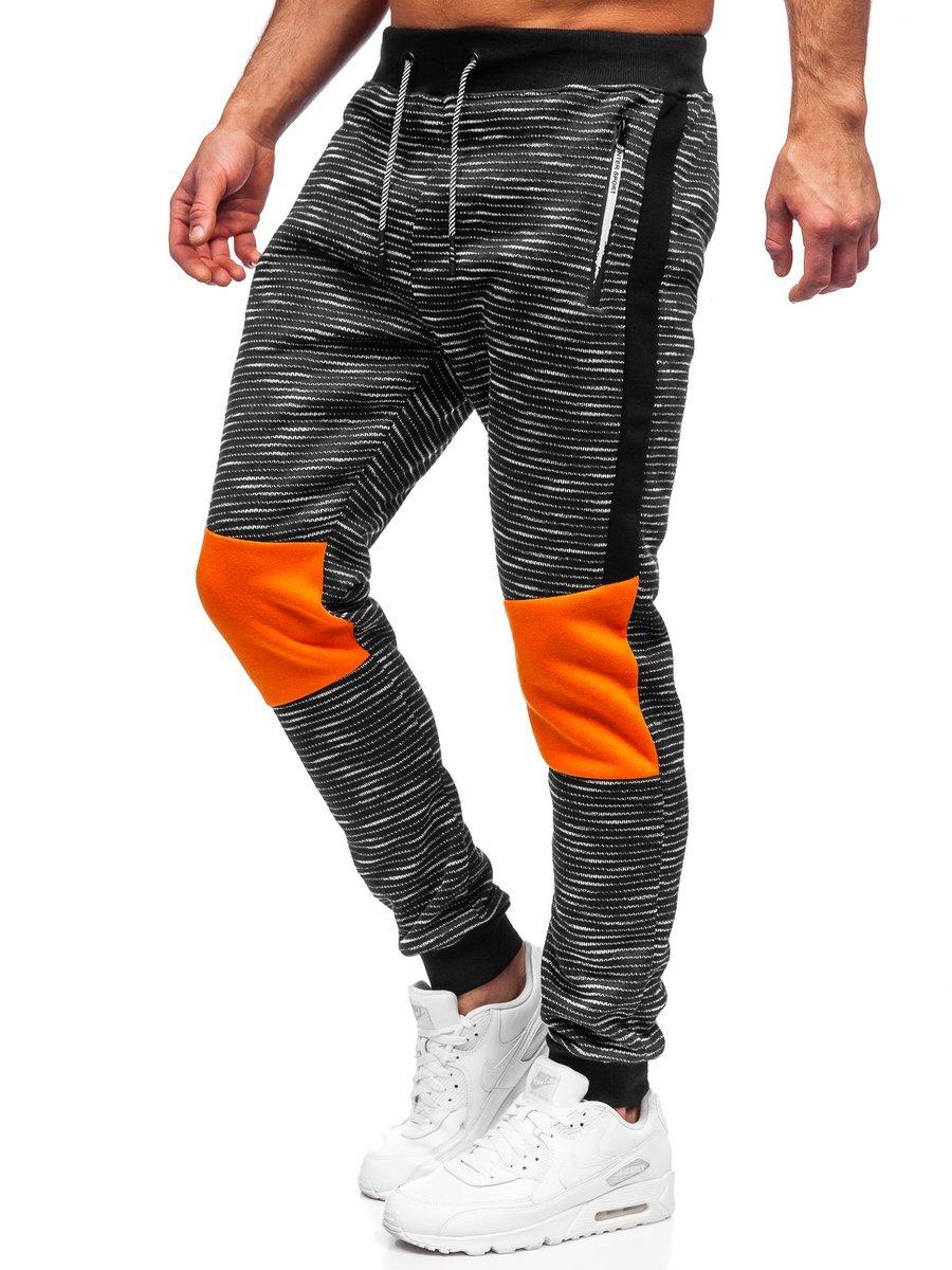 Pantaloni de trening grafit Bolf K60002 imagine