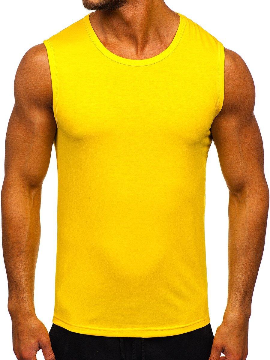 Maiou galben bărbați Bolf 99001 imagine
