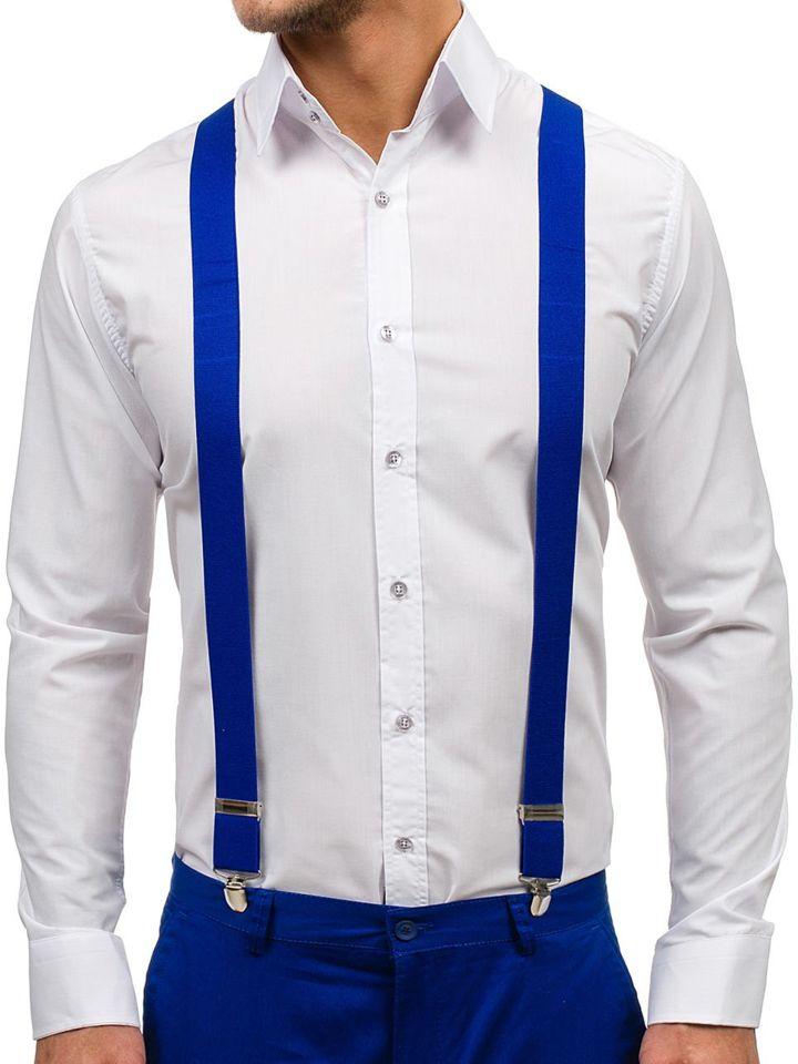 Brețele pentru bărbat albastre-deschis Bolf SZ01