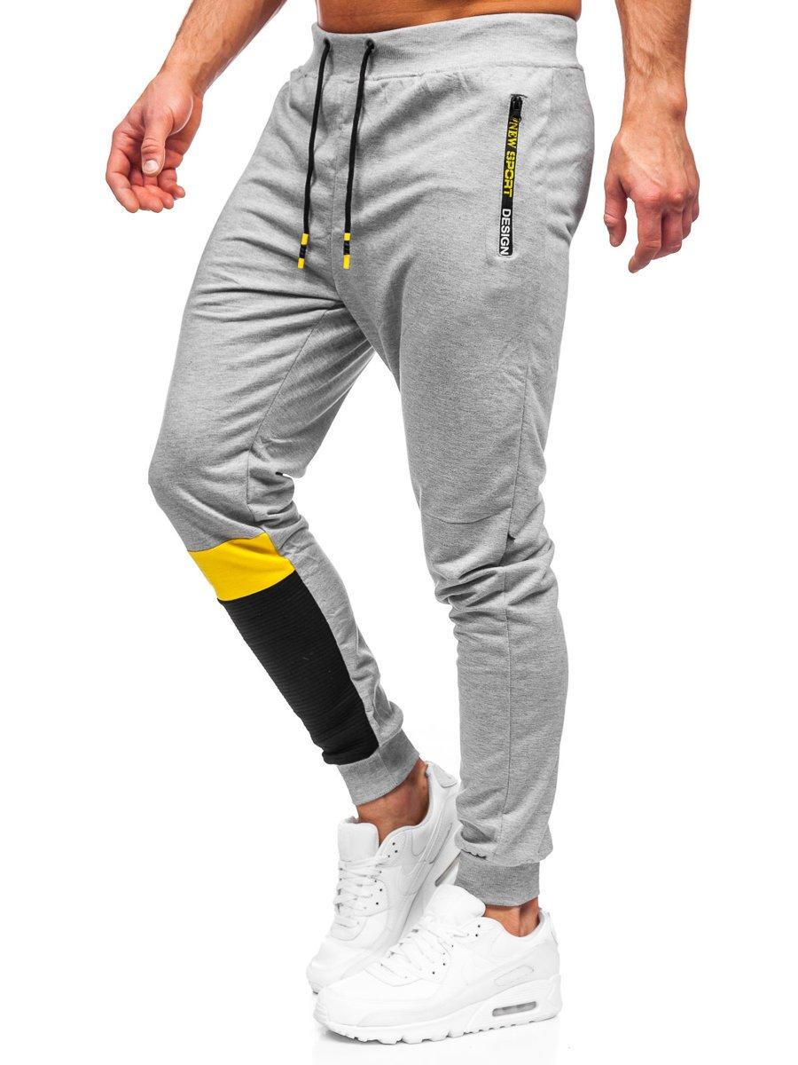 Pantaloni de trening gri Bolf K10211