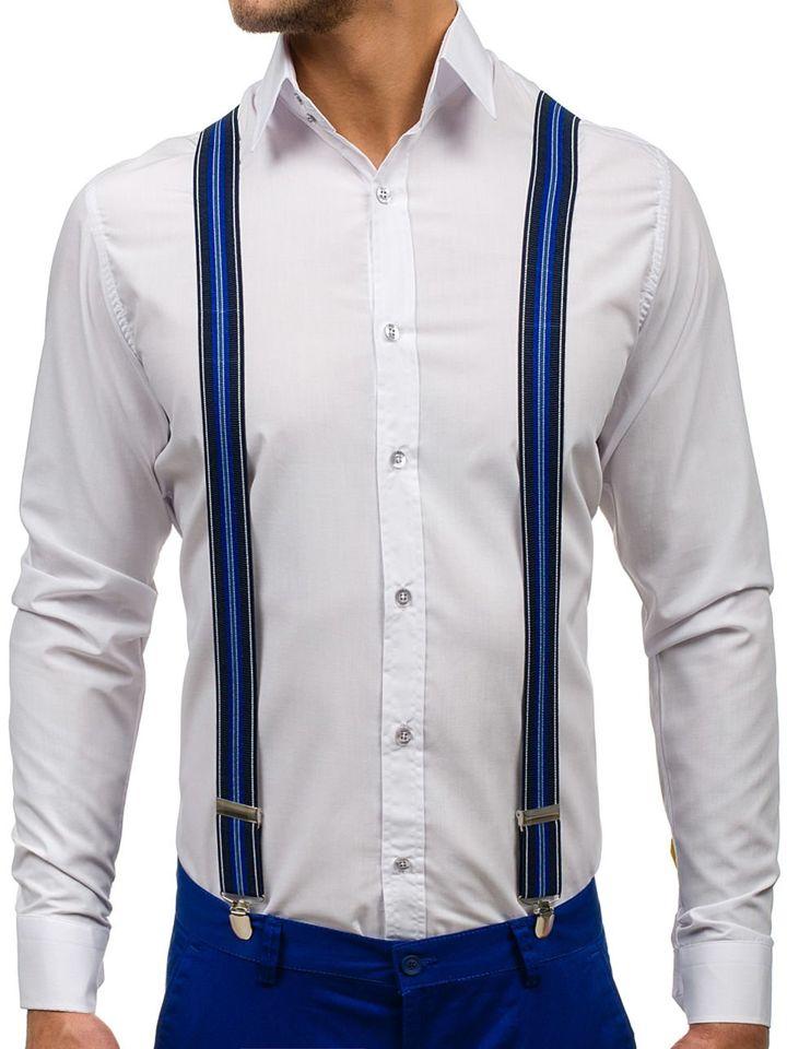 Brețele pentru bărbat albastre-deschis Bolf SZ05